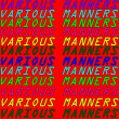 Various Manners