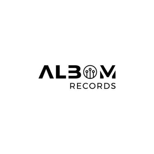 Albom Records logotype