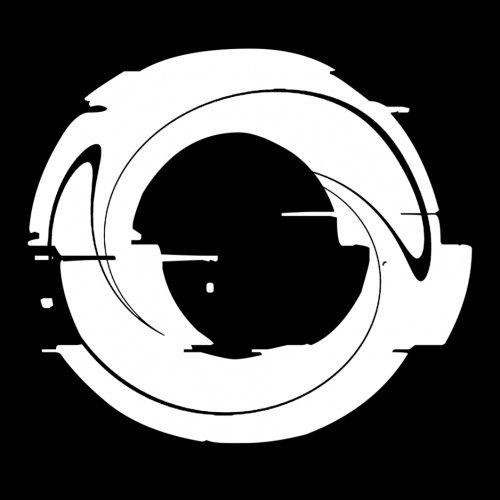 Distortion logotype