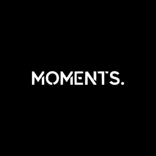 Moments. logotype