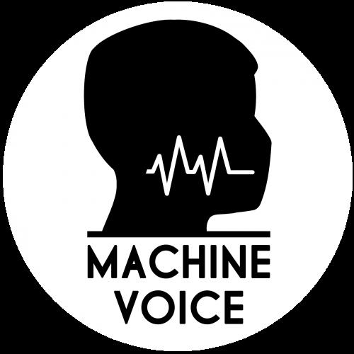 Machine Voice Label logotype