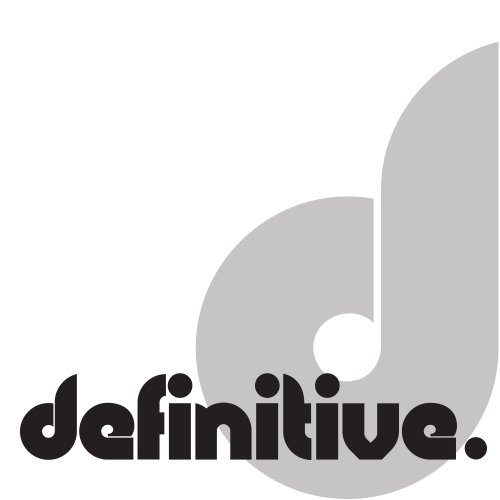 Definitive Recordings logotype