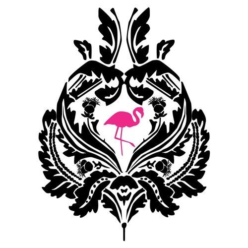Palms & Flamingos logotype