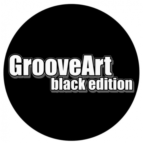 GrooveArt black edition logotype