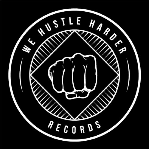 We Hustle Harder logotype