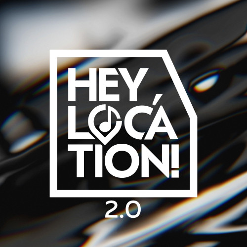 Hey, Location! 2.0 logotype