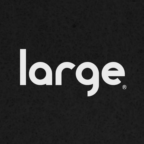 Large Music logotype