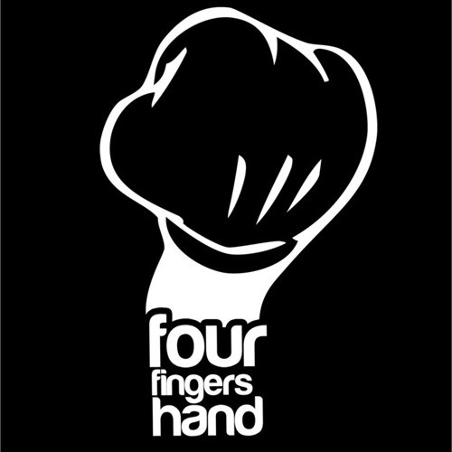 Four Fingers Hand logotype