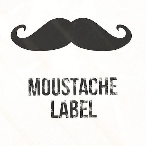 Moustache Label logotype
