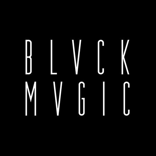 Blvck Mvgic logotype