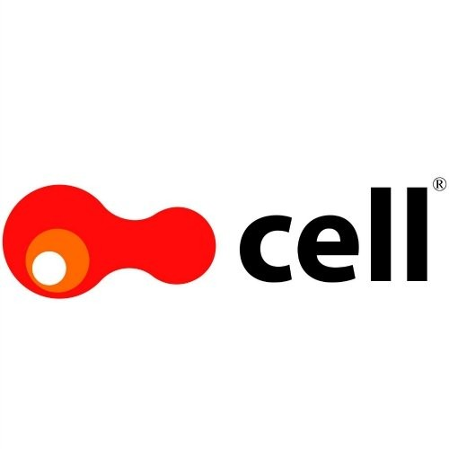 music cell logotype