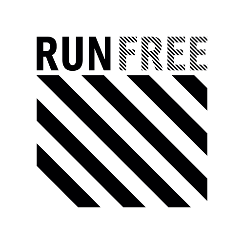 RUN FREE Records logotype