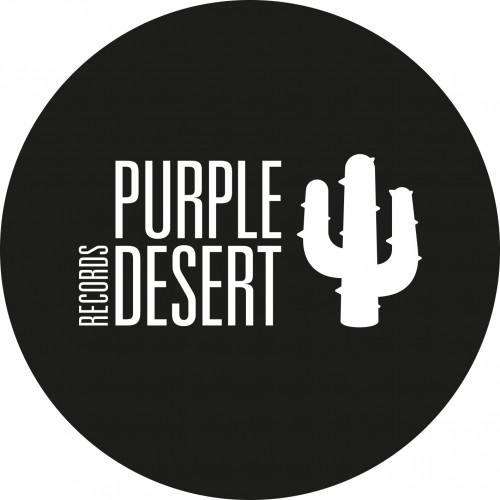 Purple Desert Records logotype