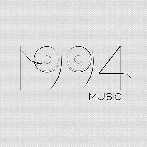 1994 Music logotype