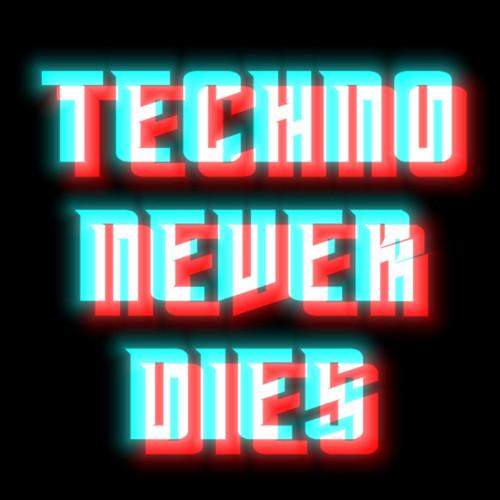 TECHNO NEVER DIES RECORDS logotype