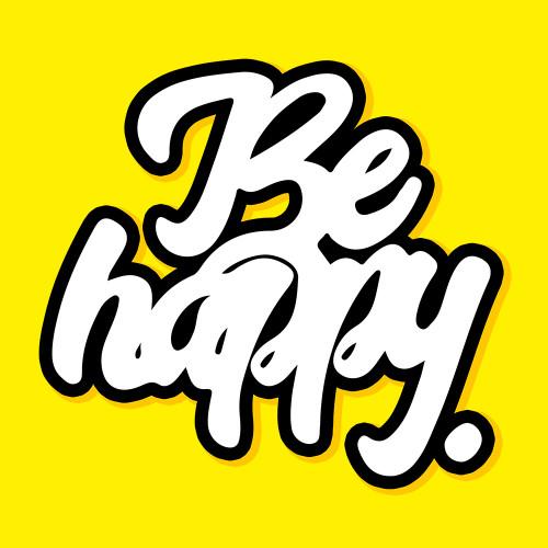 Be happy logotype
