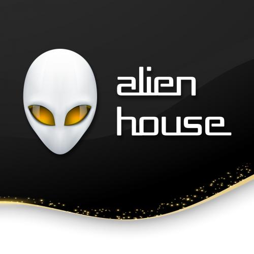 Alien House logotype