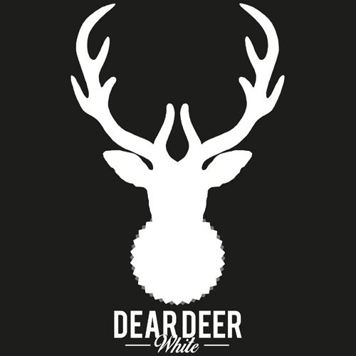 Dear Deer White logotype