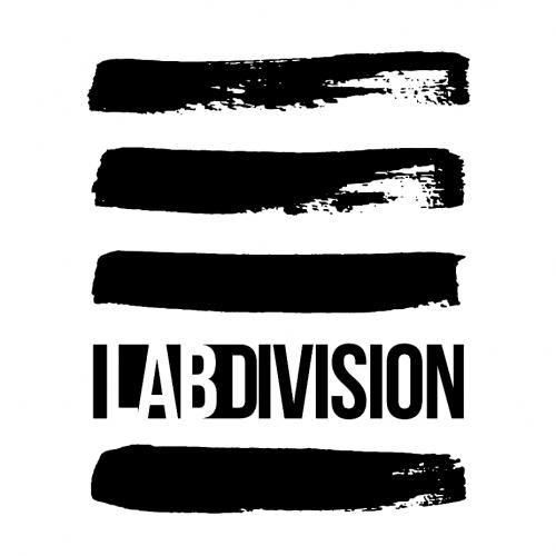 Lab Division White logotype