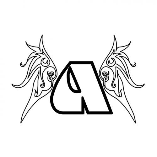 Angelu logotype