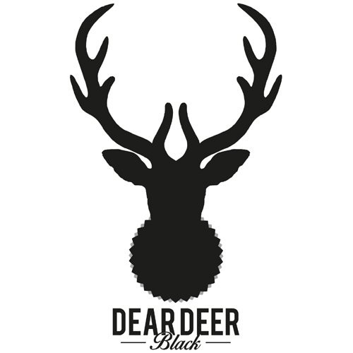 Dear Deer Black logotype