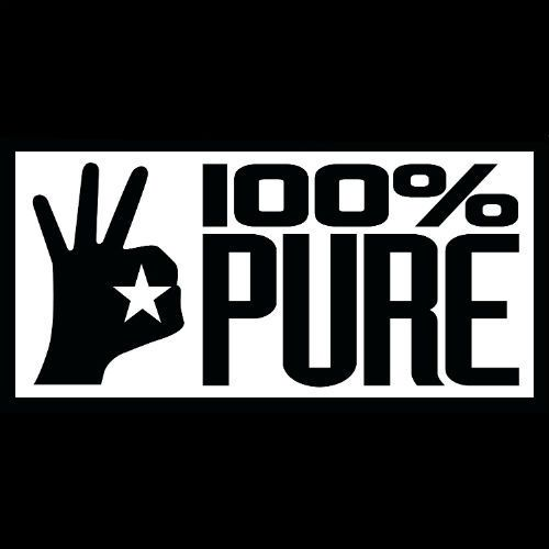 100% Pure logotype