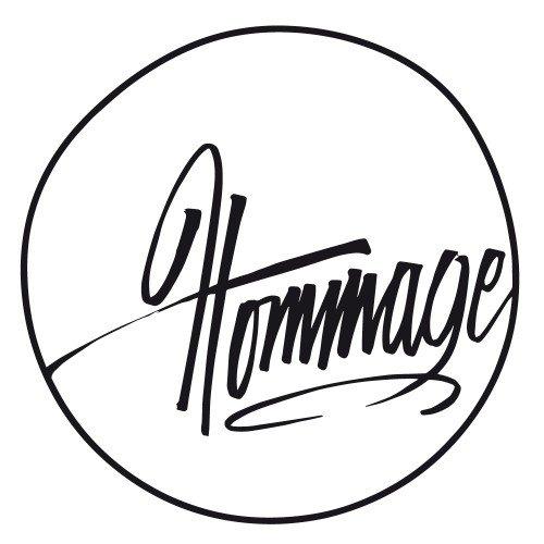 Hommage logotype