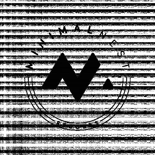 Minimal nest records logotype