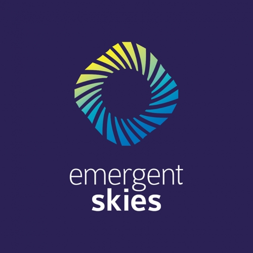 Emergent Skies logotype