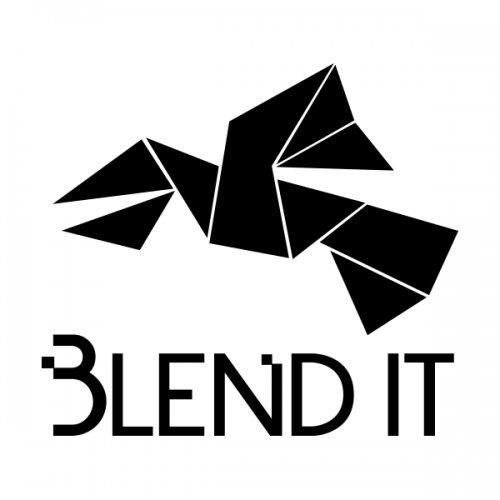 Blend It Records logotype