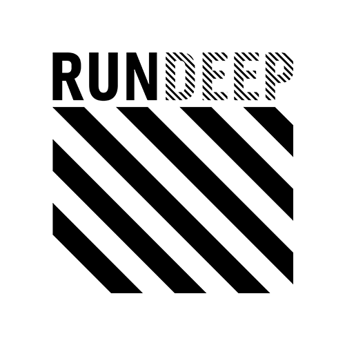 RUN DEEP Records logotype